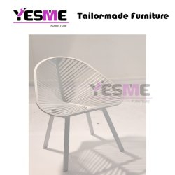 Popular New Aluminum Frame Higher Quality Garden Patio Outdoor Furniture Chair