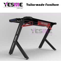 Modern Furniture Design PC Gaming Computer Desk Custom Gaming Table High Quality Waterproof Executive Office Furniture Factory Price