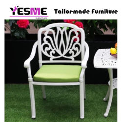 White/Black Patio Cast Aluminum Furniture Backyard Furniture Outdoor Furniture