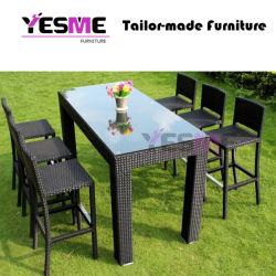Garden Style Garden Furniture Outdoor Rattan Dining Room Set