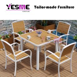 Dining Table Dining Chair Aluminum Furniture Outdoor Table and Chair Home Furniture
