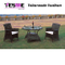 Modern Rattan Dining Set Outdoor Furniture Hotel Garden Table Chairs