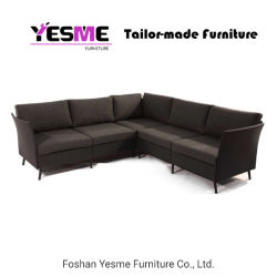 Chinese Modern Outdoor Furniture Fabric Sofa Set for Hotel Garden Modern Hotel Home Livingroom Resort Villa Balconly Office Patio