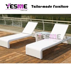Outdoor Beach Furniture Wicker Lounge Rattan Lounge Outdoor Sunlounger