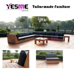 Outdoor Waterproof Fabric Sofa Set Patio Teak Furniture Outdoor Sofa